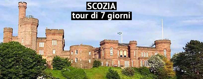 itinerario in Scozia, castello