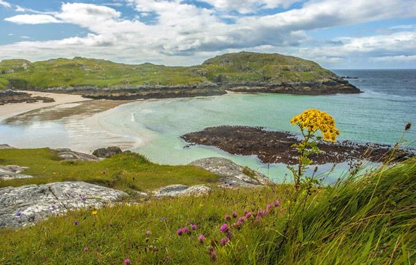 Un bel paesaggio scozzese